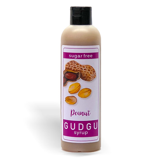 250ml Sugar Free Peanut Syrup