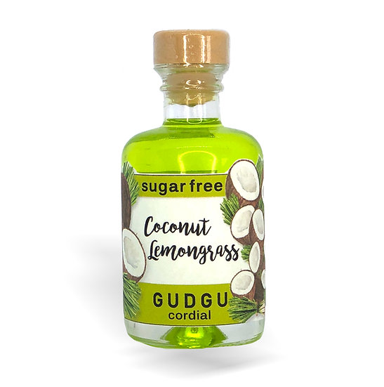 50ml Mini Coconut Lemongrass Sugar Free Cordial