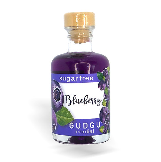 50ml Mini Blueberry Sugar Free Cordial