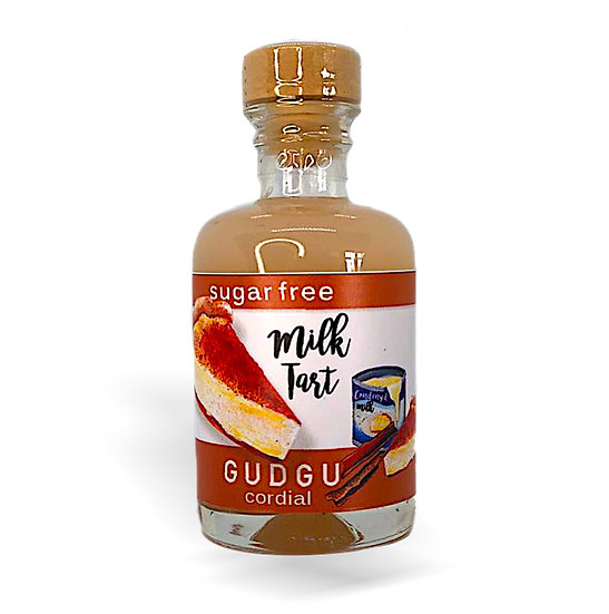 50ml Mini Milk Tart Sugar Free Cordial