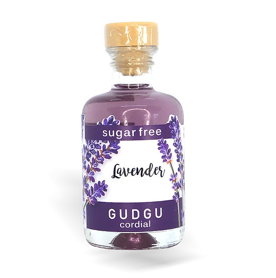 50ml Mini Lavender Sugar Free Cordial
