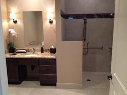 Full Bath with Heating Flooring