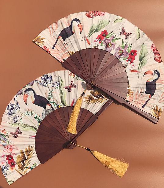 Silk mysa fans on brown.JPG
