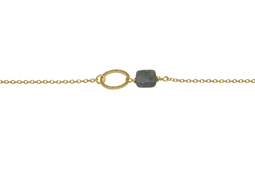 Bracelet Nisaa ( plaqué or )