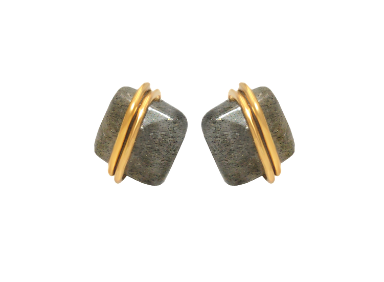 Boucles d 'oreilles Neeve ( Plaqué or)