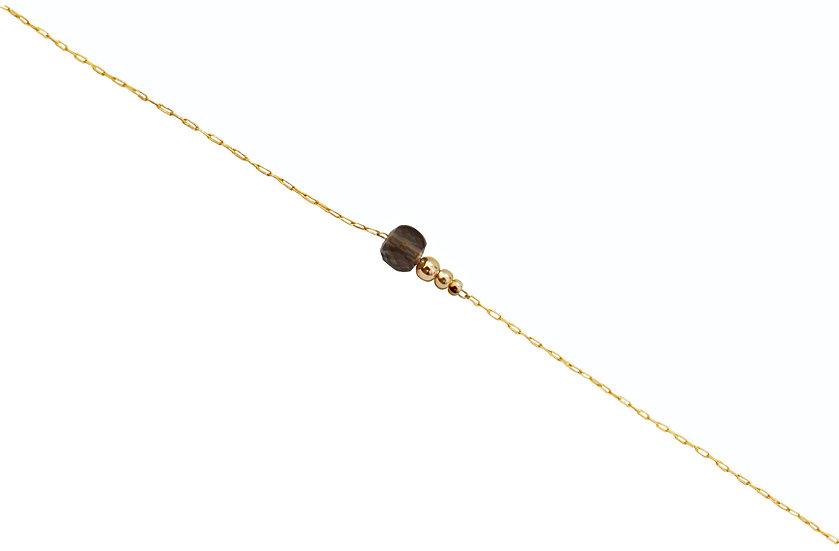 Bracelet Jeanne -Quartz Fumé