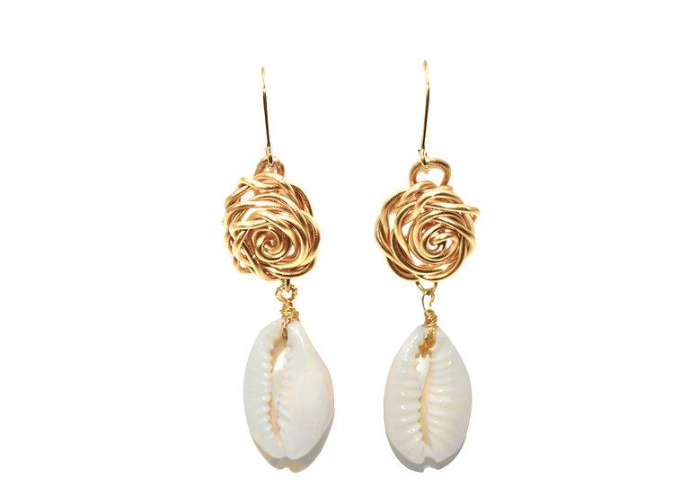 Boucles  d'oreilles Nefira (Gold filled)