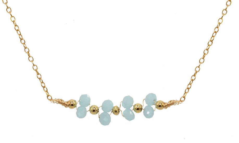 Collier Niza (Gold filled)