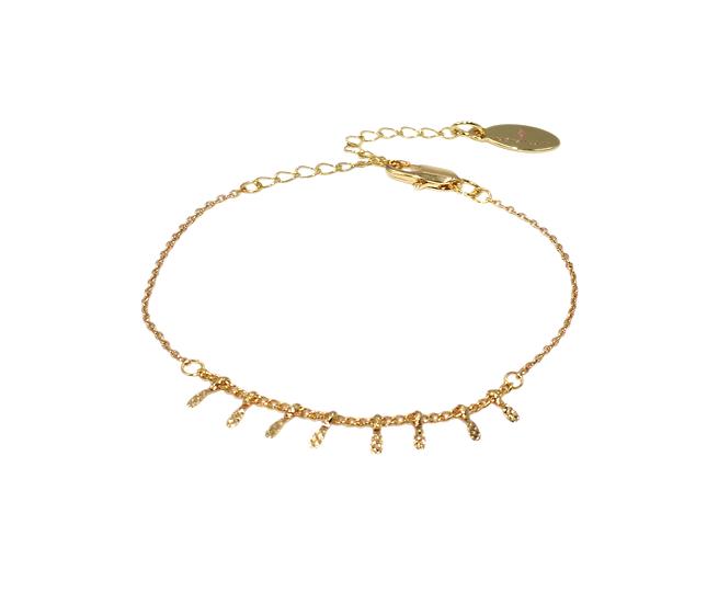 Bracelet Nycel (plaqué or)