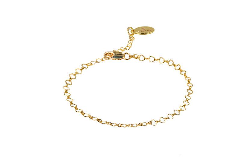 Bracelet Nocidé (plaqué or)