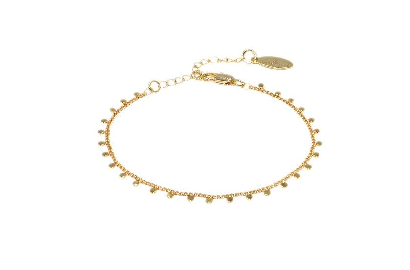 Bracelet Naba (plaqué or)