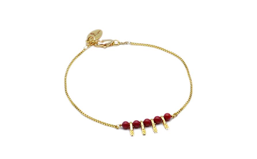 Bracelet Nycel  Corail