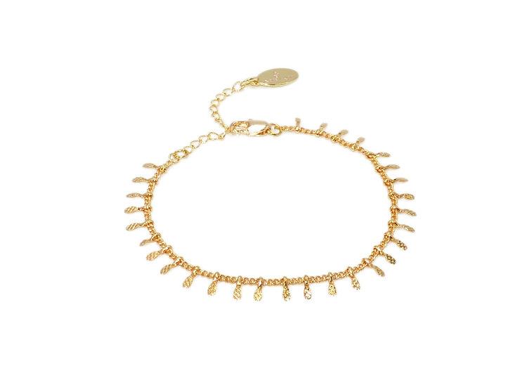 Bracelet Narya (plaqué or)