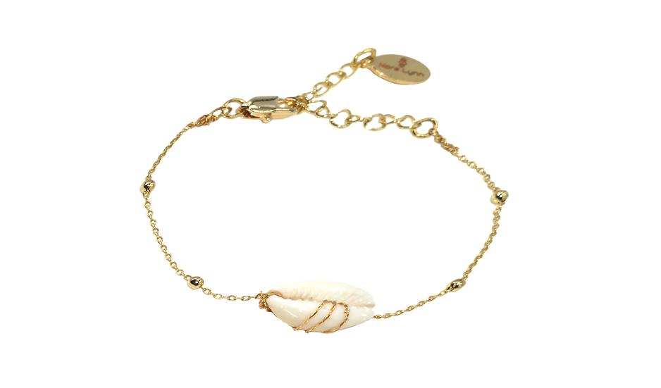 Bracelet Novela (plaqué or)