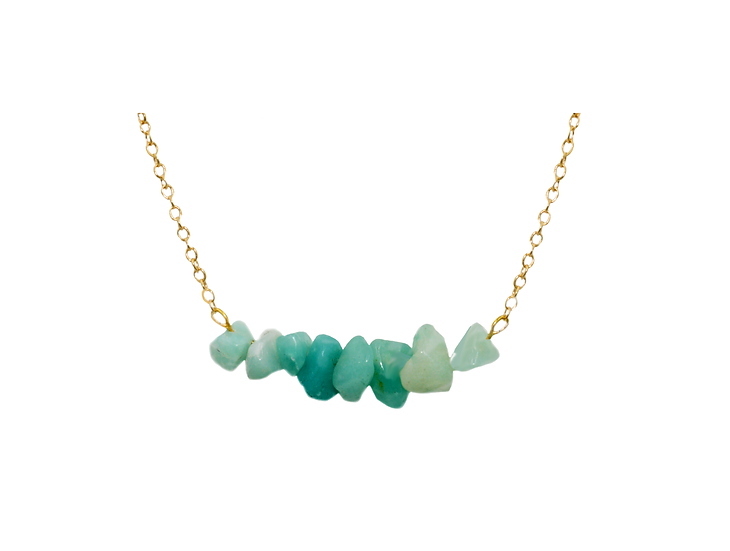 Collier Najibah- Amazonite