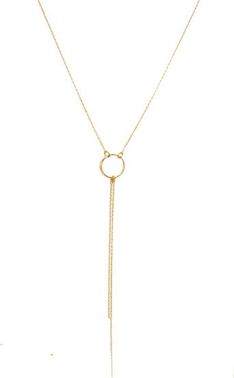 Sautoir Lysia - plaqué or