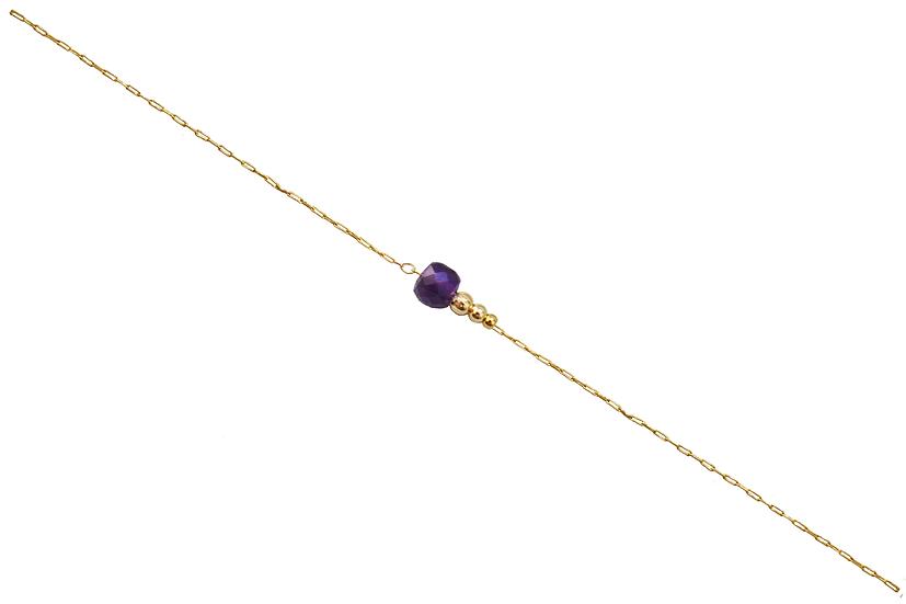 Bracelet Jeanne -Améthyste