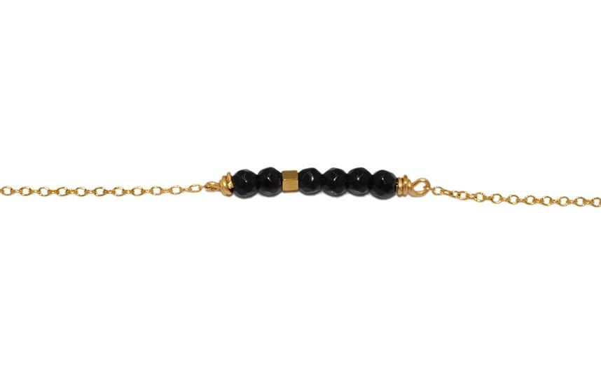 Bracelet  Naurine - Onyx
