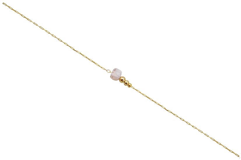 Bracelet Jeanne -Agate Rose