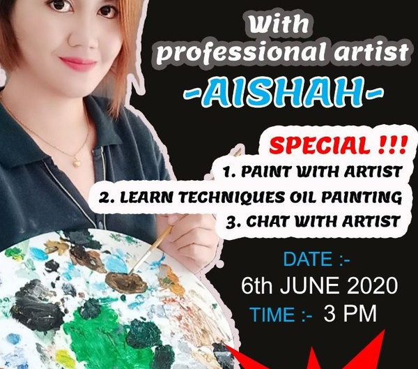Paint With Aishah