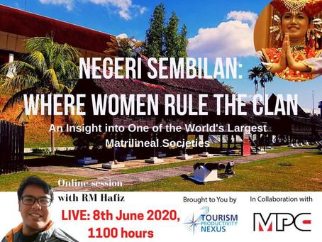 NEGERI SEMBILANWHERE WOMEN RULE THE CLAN