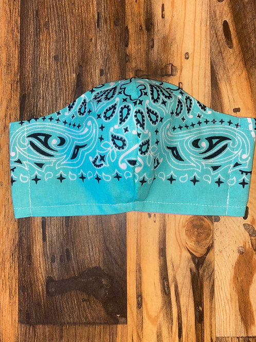 Mint WOMEN's bandana 3-layer mask