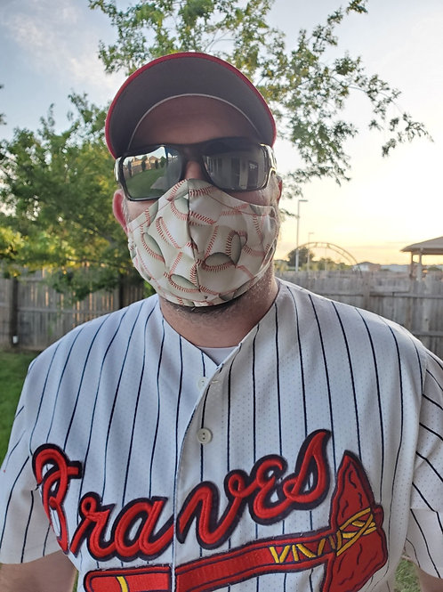 MEN's baseball ⚾️ 3-layer mask