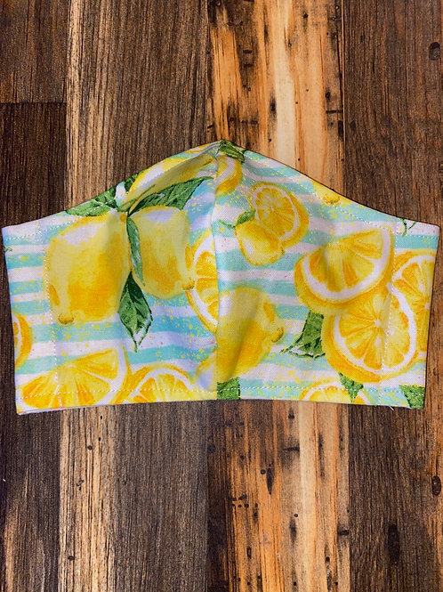 Summer lemons 🍋 WOMEN's 3-layer mask