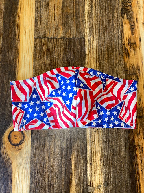 CHILD's stars & stripes 3-layer mask