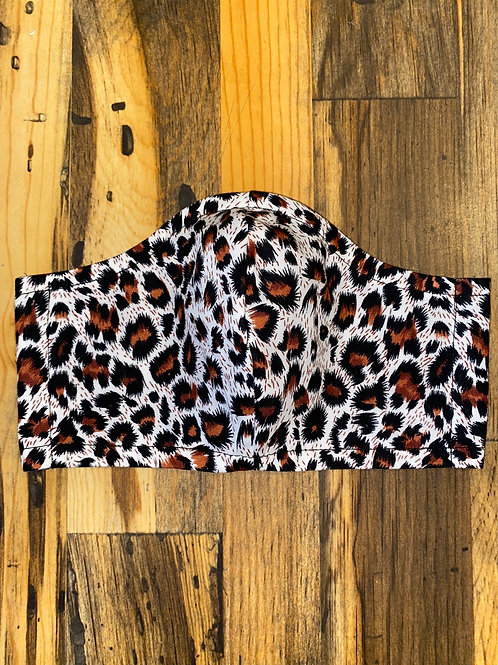 Leopard spots 3-layer mask