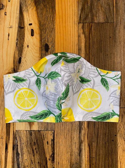 Lemon slice 🍋 3-layer mask