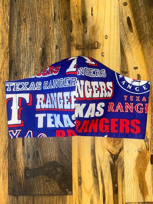 MEN's Texas Rangers 3-layer mask