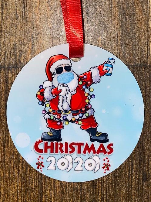 Ornament-2020 Santa