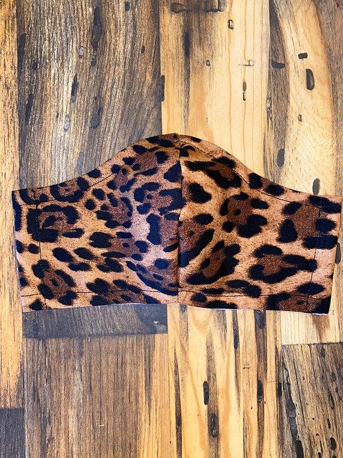 Leopard 🐆 #2 WOMEN's 3-layer mask