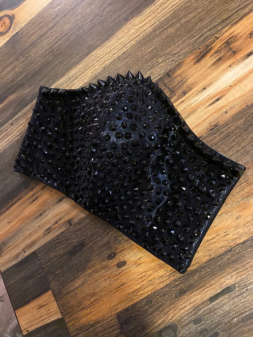 Spikes & rhinestones WOMAN's 3-layer mask
