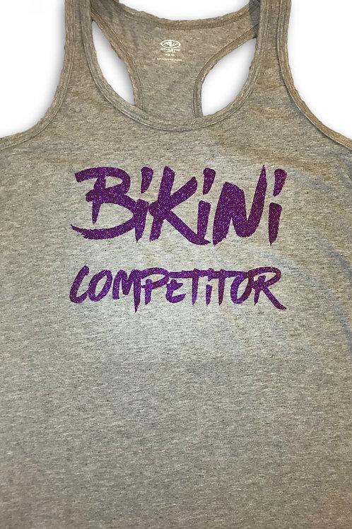 Bikini Competitor-Grey/purple