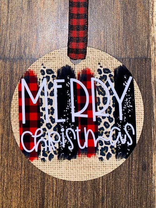 Ornament-Merry Christmas