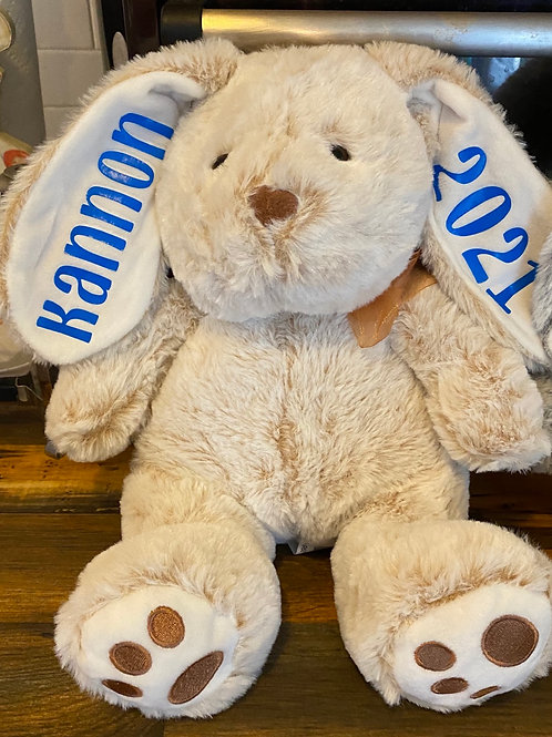 Tan Easter Bunny (customized)