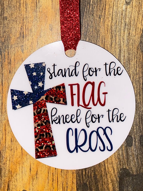 Ornament-stand for the flag