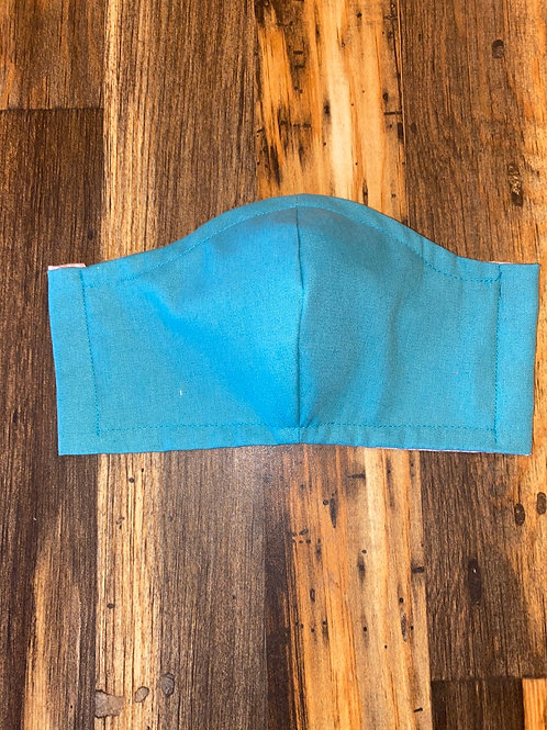 Teal WOMAN's 3-layer mask