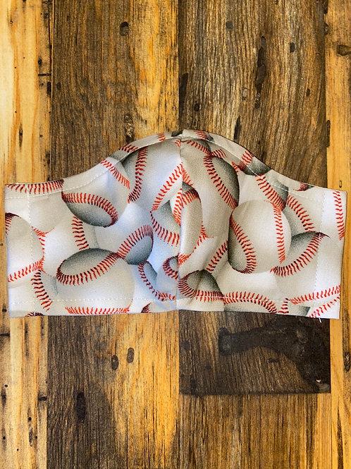 WOMEN's baseball ⚾️ 3-layer mask