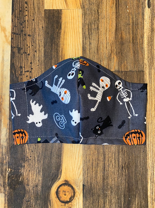 Halloween 🎃 collection cotton 3-layer mask