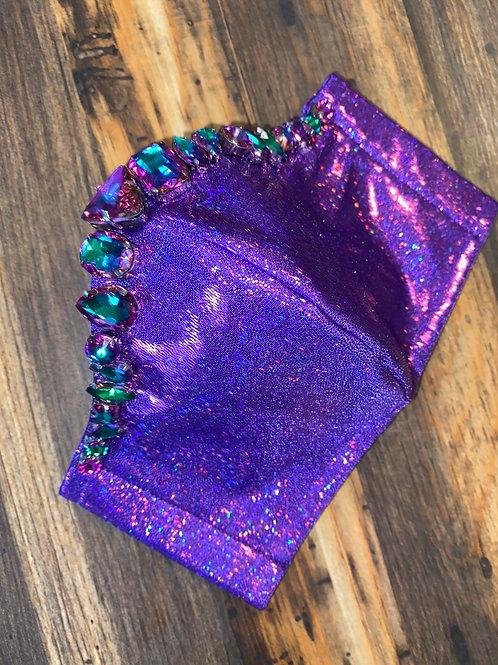 purple big stone 3-layer mask