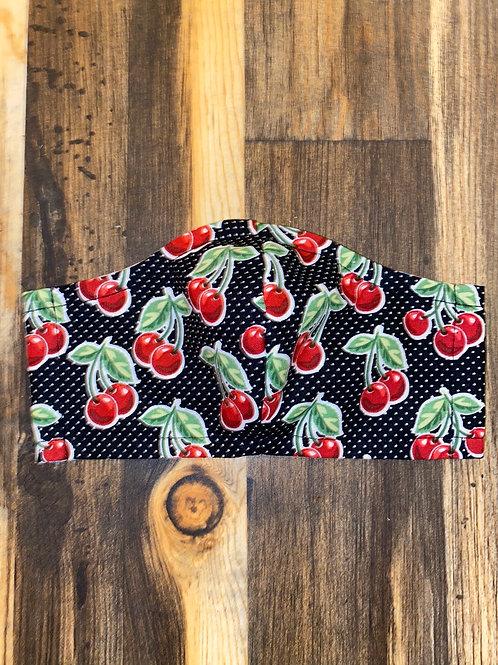 Black cherries 🍒 WOMEN's 3-layer mask