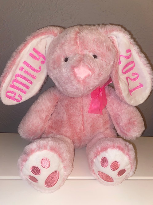 Pink Easter Bunny (customized)