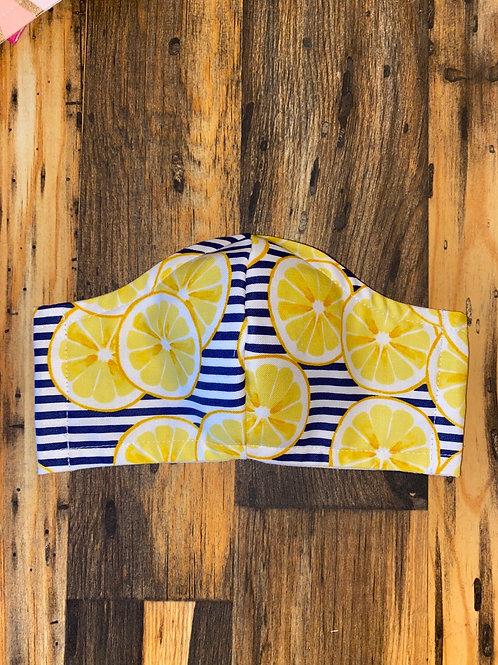 Lemons 🍋 WOMAN's 3-layer mask