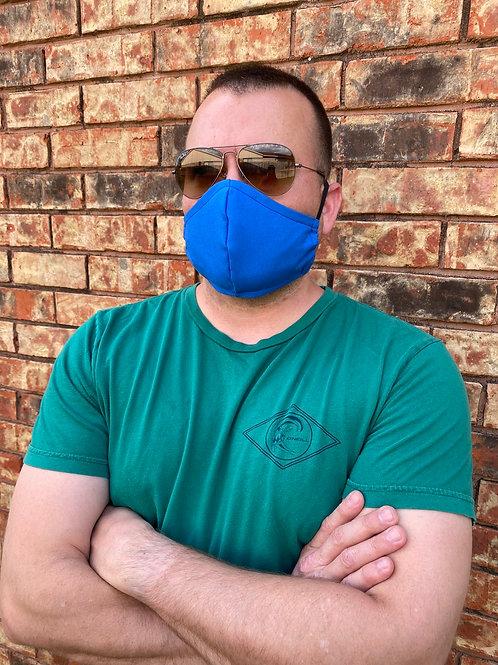 MEN's blue 3-layer mask