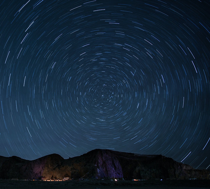 timelapse-photography-of-stars-at-night-