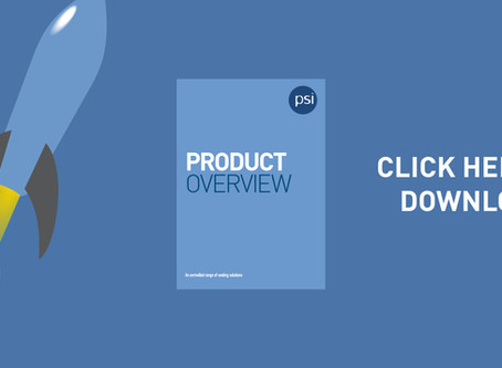 PSI Launch New Brochure, Packed Full of New Product