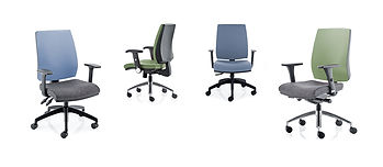 Attractive, durable task chair with slimline upholstery available with a choice of mechanisms.